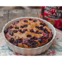 Blueberry sponge cake with protein