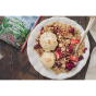 goat and sheep protein strawberry granola
