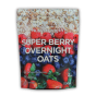 super berry overnight oats