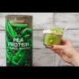 pea protein vanilla kiwi smoothie