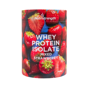 Whey Protein Isolate Mixed Strawberry