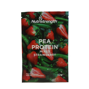 Pea Protein Mixed Strawberry sachet