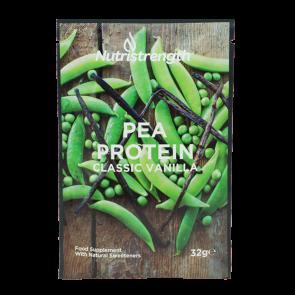 pea protein vanilla flavour sachet
