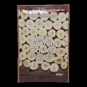 whey protein isolate ecuadorain banana sachet