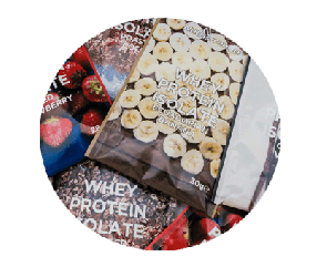 whey protein mini sachet box