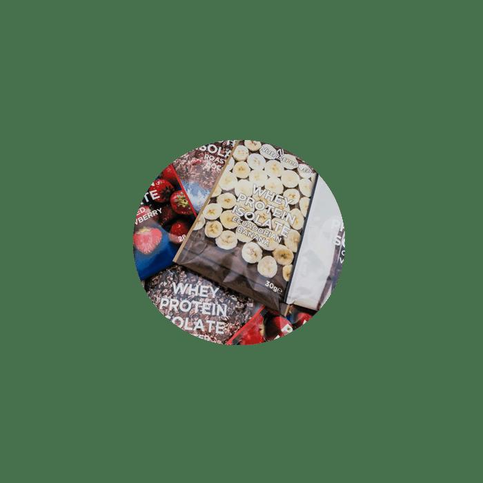 whey protein mini sachet box