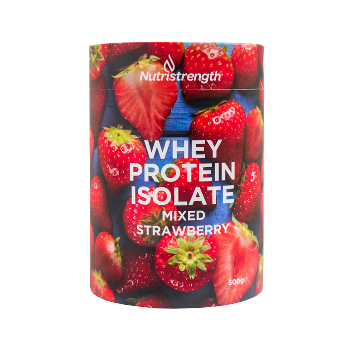 An image of Whey Protein Isolate Mixed Strawberry