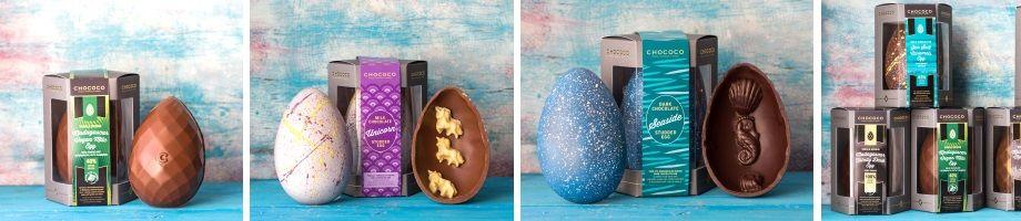 chococo vegan easter egg