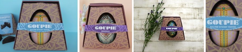goupie vegan chocolate egg
