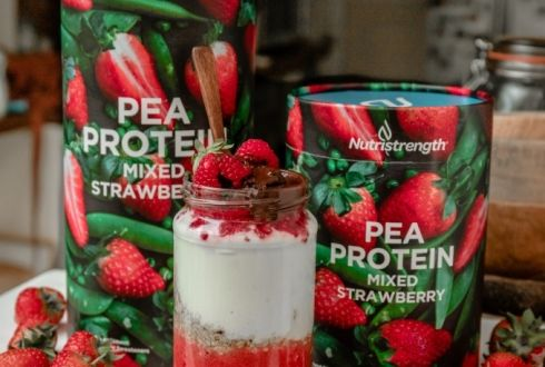 Pea Protein Mixed Strawberry