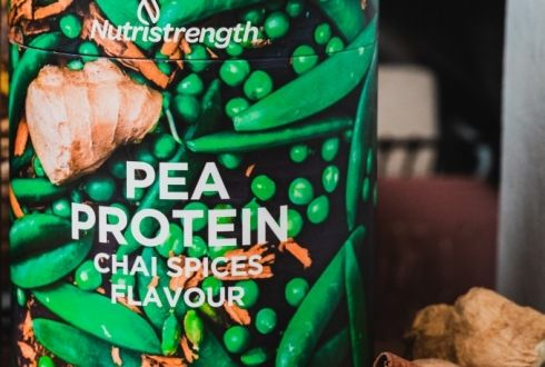 Pea Protein Chai Spices Flavour (500g)