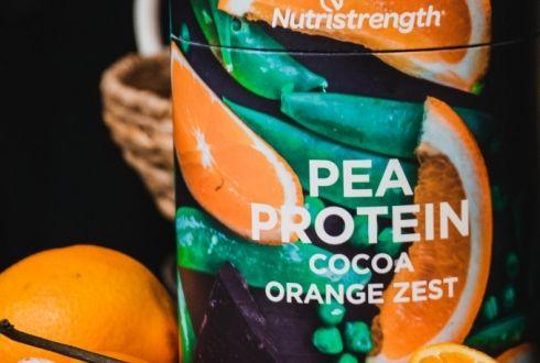 Pea Protein Cocoa Orange Zest