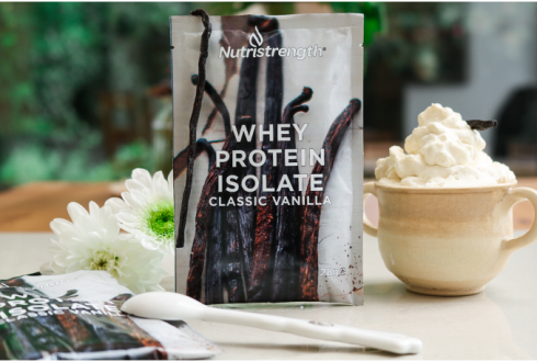 Whey Protein Isolate Classic Vanilla Sachets