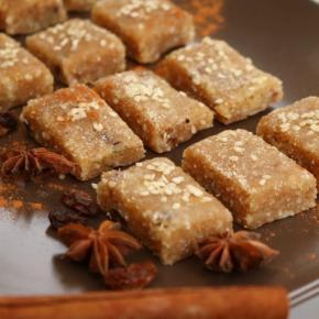 Cinnamon Tahini Bites