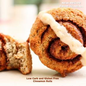 Cinnamon Rolls - Low Carb and Gluten Free