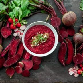 Beetroot Porridge