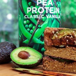 Gluten Free, Protein Avocado Bread