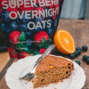 Orange & Berry Flour-Free Cake