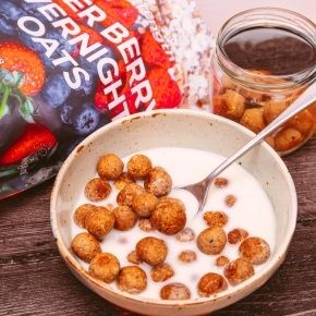 Homemade Cereal Puffs