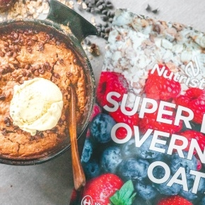 Cookie Dough Baked Oats