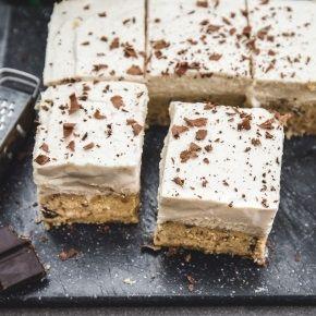 Healthy Vegan Cookie Dough Cake