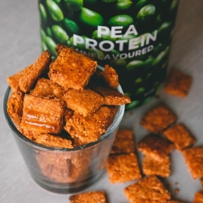Protein Cheese Crackers - Smoked