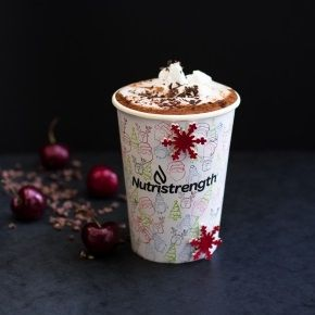 Black Forest Protein Hot Chocolate