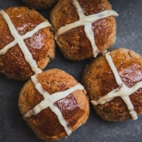 Protein Hot Cross Bun Recipe