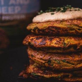 Savoury Protein Pancake Recipe