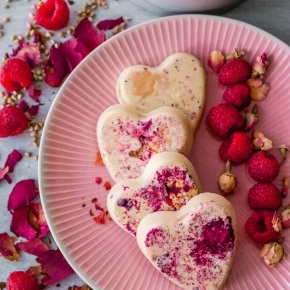 Valentine's Protein Hearts