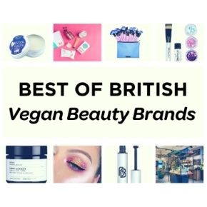 Best of British: Vegan Beauty Brands