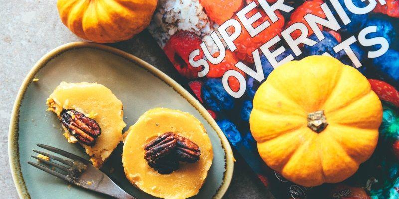 no bake pumpkin tarts